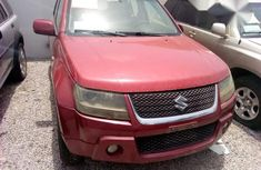 Suzuki Vitara 2005 Red For Sale