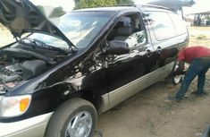Toyota Sienna 1999 Black for sale