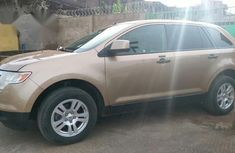 Ford Edge 2010 Gold for sale