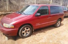 Nissan Quest 2000 Red for sale