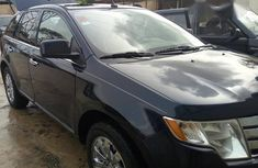 Cheap Neatly Used Ford Edge 2008 Black For Sale