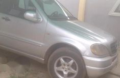 Mercedes-Benz ML 320 2000 Gray for sale