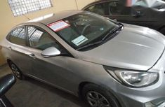 Clean Hyundai Accent 2012 Silver for sale