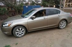 Tokunbo Honda Accord 2007 Gold for sale