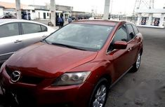 Mazda Cx7 2007 Red for sale