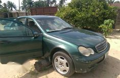 Mercedes-benz C200 2003 Green for sale