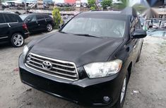 Tokunbo Toyota Highlander 2010 Black for sale