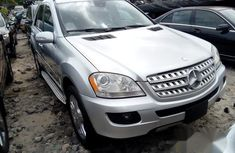Mercedes Benz ML350 2008 Silver for sale