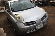 Neat Used Nissan Micra 2005 Silver for sale