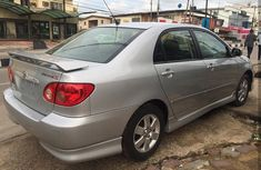 Foreign used Toyota Corolla 2005 sports  FOR SALE