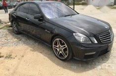 Tokunbo Mercedes-Benz E63 Amg 2013 Black for sale