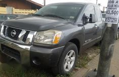 Nissan Titan 2006 Gray for sale
