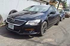Clean Nigerian Used Volkswagen CC 2011 Black for sale