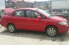Clean Honda City 2007 Red for sale