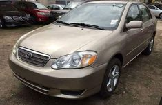 DIRECT TOKUNBO TOYOTA COROLLA 2003 FOR SALE