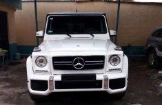 2015 Gwagon model white for sale