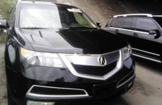 Acura MDX 2012 Petrol Automatic Black for sale