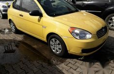 Hyundai Accent 2008 Yellow for sale