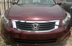 Neat Honda Accord 2008 red for sale