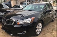 Foreign used Honda Accord 2008 Black for sale