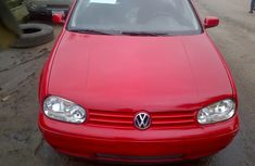 Volkswagen Golf 4 2000 red For Sale