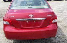 Buy and drive tokunbo Toyota Yaris 2007 red for sale