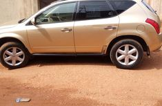 Used Nissan Murano 2003 Gold For Sale