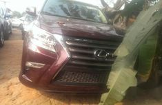 Lexus Gx460 2015 Red for sale