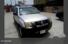 Very Clean Registered Nissan Xterra 2005 Silver for sale