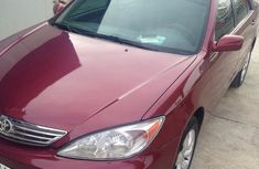 Clean Toyota Camry 2003 Red for sale