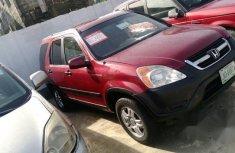 Honda CRV 2003 Red for sale