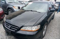 Clean Honda Accord 2001 Black for sale