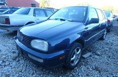 Clean Volkswagen Golf 1998 model for sale