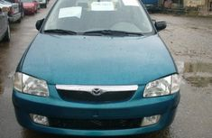 Mazda 323 blue 2002 model for sale