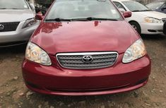Foreign used Toyota Corolla 2005 FOR SALE