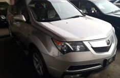Acura MDX 2010 Silver for sale