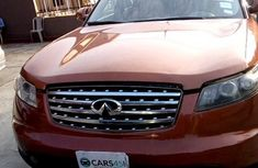 Infiniti Fx35 2004 Red for sale