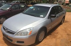 Clean Honda Accord 2006 Silver for sale