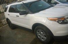 Tokunbo Ford Explorer 2013 White for sale