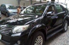 Toyota Fortuner 2012 Black for sale