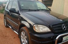 Mercedes-Benz ML320 2002 Black for sale