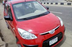 Hyundai I10 2009 Red for sale