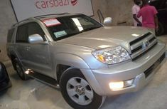 Clean Toyota 4runner 2003 Silver FOR SALE