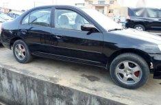 Clean Nigerian Used Honda Civic 2003 Black for sale