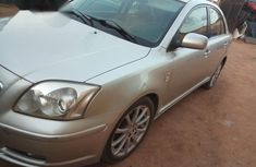 Clean Toyota Avensis 2007 Silver for sale