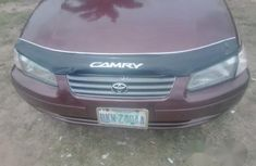 Nigeria Used Toyota Camry 2002 Red for sale