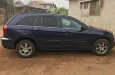 Neatly Used Nigerian Chrysler Pacifica 2005 Blue for sale