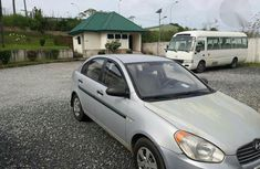 Clean Hyundai Accent 2005 Silver For Sale
