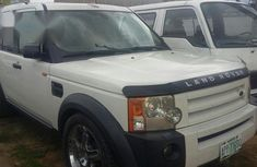 Clean Registered Land Rover LR3 2007 White for sale