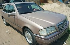 Clean Mercedes Benz C220 2001 Gold for sale